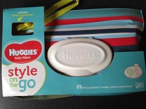 huggies lingettes style